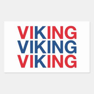 VIKING RECTANGULAR STICKER