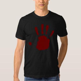 Viking Red Hand Tee Shirt
