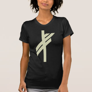 Viking Rune - Luck - black T-Shirt