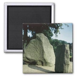 Viking rune stones magnet