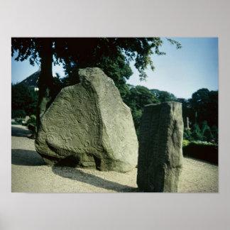 Viking rune stones poster