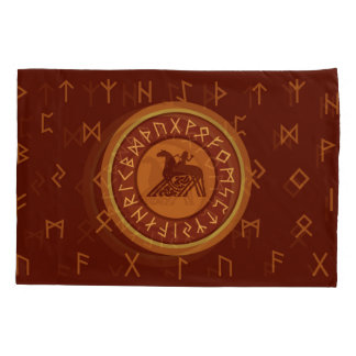 Viking Runes Pillow Case