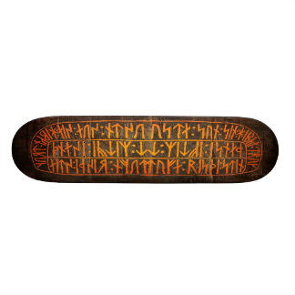Viking Runes Skateboard