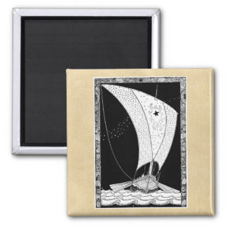 Viking Sailing Ship Magnet