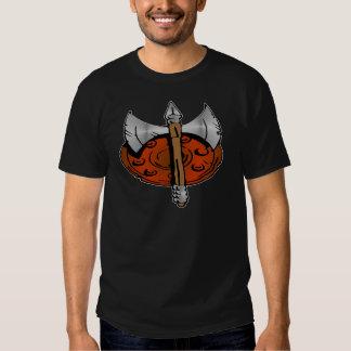 Viking Shield & Battle Ax Tee Shirt