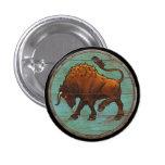 Viking Shield Button - Auroch