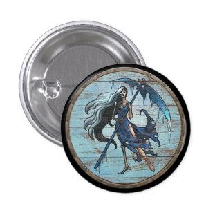 Viking Shield Button - Hel