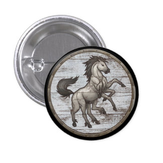 Viking Shield Button - Sleipnir