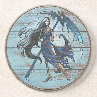 Viking Shield Coaster - Hel