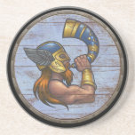 Viking Shield  - Heimdallr Beverage Coasters