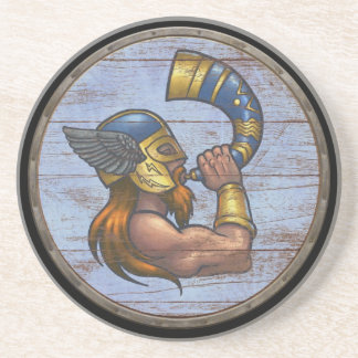 Viking Shield  - Heimdallr Drink Coaster