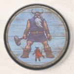 Viking Shield - Jotun Beverage Coasters