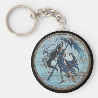 Viking Shield Keychain - Hel