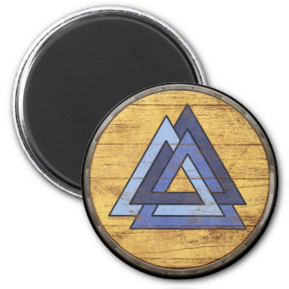 Viking Shield Magnet - Valknut