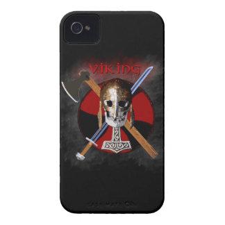 VIKING - Shield Skull iPhone 4 Case