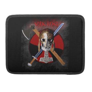 VIKING – Shield Skull Sleeve Für MacBooks
