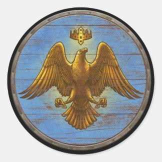 Viking Shield Sticker - Eagle