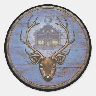 Viking Shield Sticker - Eikþyrnir
