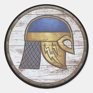 Viking Shield Sticker - Helm
