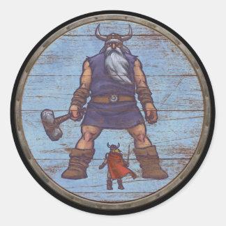 Viking Shield Sticker - Jotun