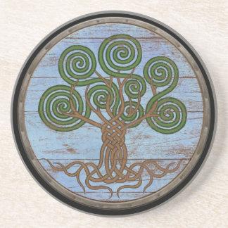 Viking Shield - Yggdrasil Drink Coaster