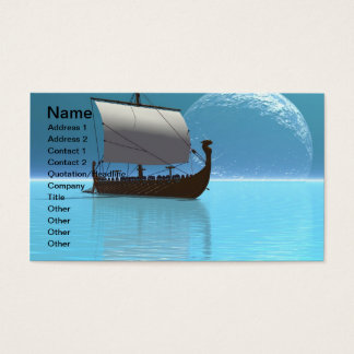 Viking Ship 2 Business Card