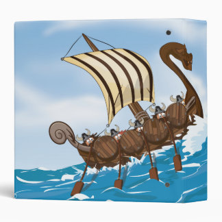 Viking Ship Binder