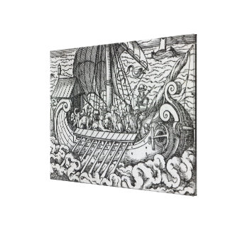 Viking Ship Canvas Print