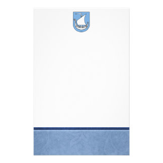 Viking Ship Coat of Arms Stationery