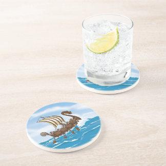 Viking Ship Drink Coaster