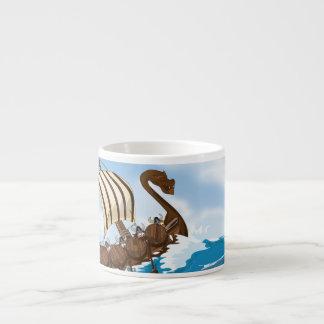 Viking Ship Espresso Cup