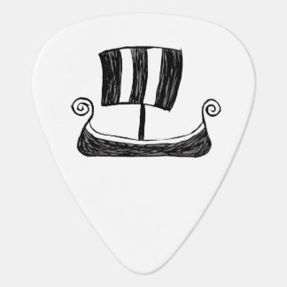 Viking Ship Guitar Pick