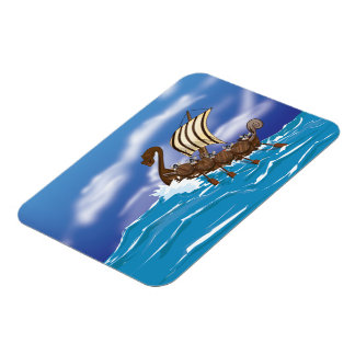 Viking Ship Magnet