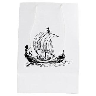 Viking Ship Medium Gift Bag