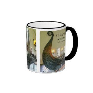 Viking Ship Museum Mug, Oslo Norway Ringer Coffee Mug