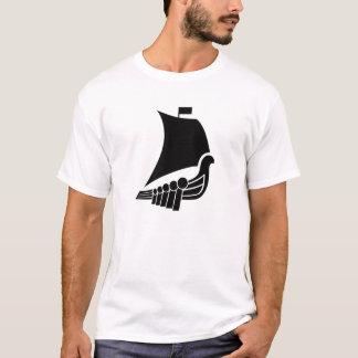 Viking Ship Pictogram T-Shirt