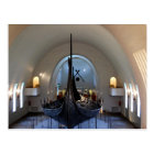 viking ship postcard