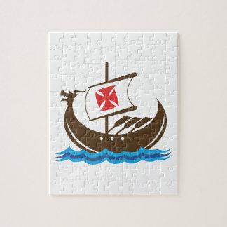 VIKING SHIP JIGSAW PUZZLE