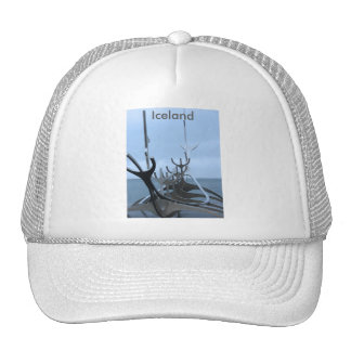 Viking Ship Sculpture - Iceland - Nordic Trucker Hat