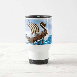 Viking Ship Travel Mug