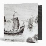 Viking Ships 3 Ring Binders