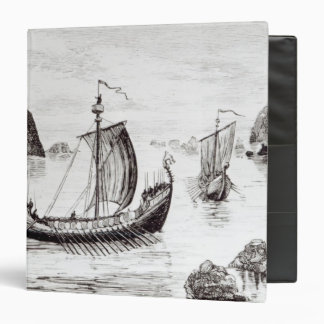 Viking Ships Binder