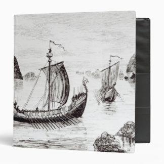 Viking Ships Binders