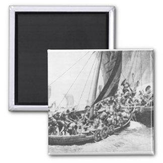 Viking Ships Magnet