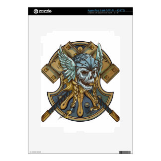 Viking iPad 3 Skin