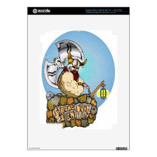 Viking Skin For iPad 3