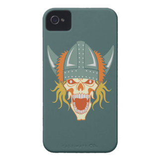 VIKING skull custom Blackberry case