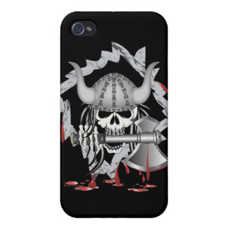 Viking Skull Covers For iPhone 4