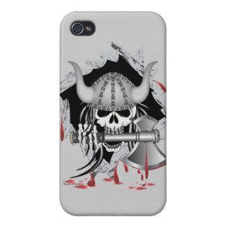 Viking Skull iPhone 4 Covers