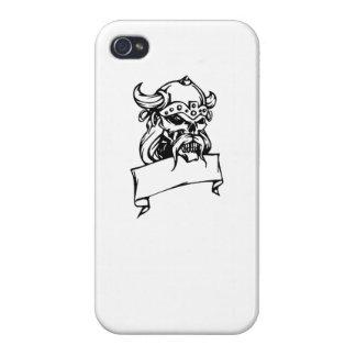 Viking Skull Cases For iPhone 4